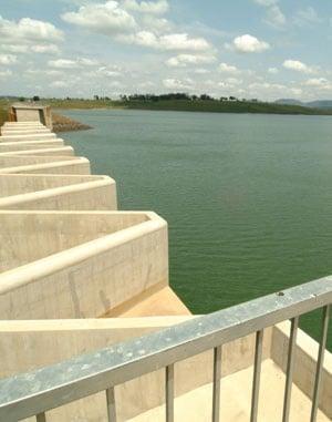 A file image of Midmar Dam.