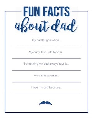 photograph about Father's Day Card Printable known as Printable: Because of father, heres a card Mum or dad24