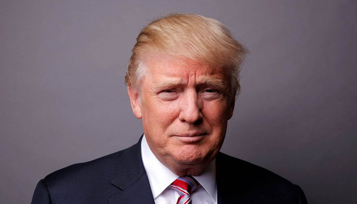 donald trump of the united states