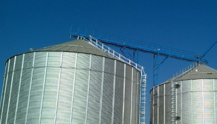 Agriculture silor and storage facility.