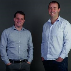 Jonathan Womersley (L) and Marcel van Ghinste are co-founders of TravelGround. (Picture: Supplied)