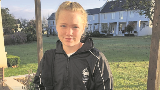 Young sports star Abby Daugherty of The Wykeham Collegiate.