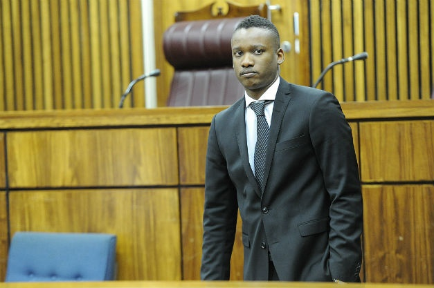 Duduzane Zuma appears in court. (Lucky Maibi/Gallo)