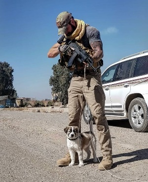 Man reunited with dog he saved from war-torn Syria