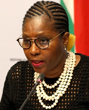 Minister of Public Service and Administration  Ayanda Dlodlo. (Photo: GCIS)