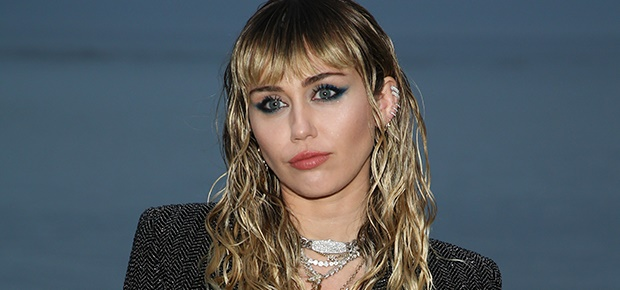 Singer and actress Miley Cyrus.