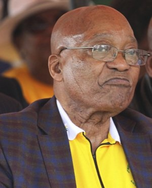 President Jacob Zuma. (AP file)