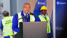 NEWSPAPERS: Zuma unveils new Medupi unit