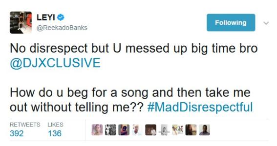 reekado bank tweet