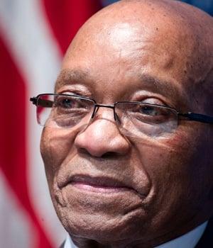 President Jacob Zuma. (Pic: Karen Bleier, AFP)