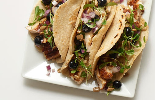 blueberries, superfood, tacos