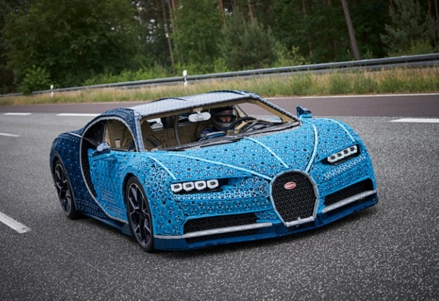Watch Lego Built An Incredible Full Size Bugatti That You Can