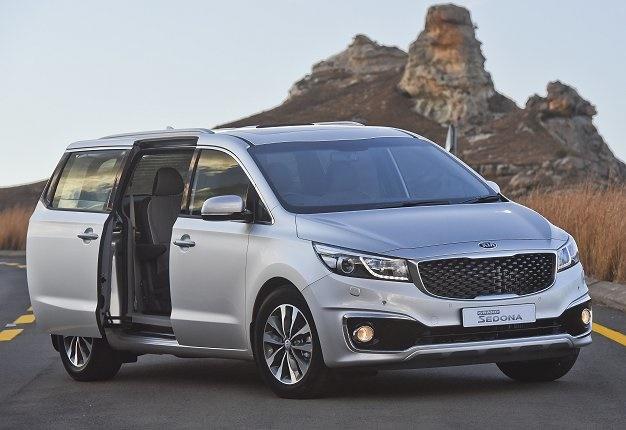 Grand Sedona In SA: Kia's Premium Mom's Taxi