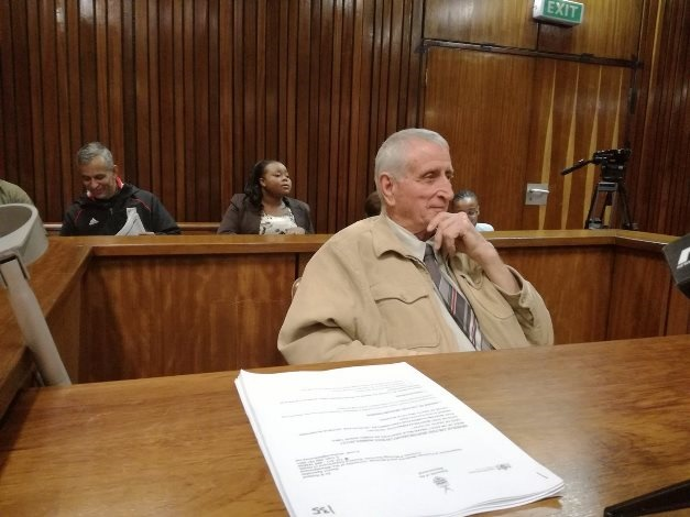 Former security branch police officer, sergeant Joao 'Jan' Rodrigues in court. (File, News24)