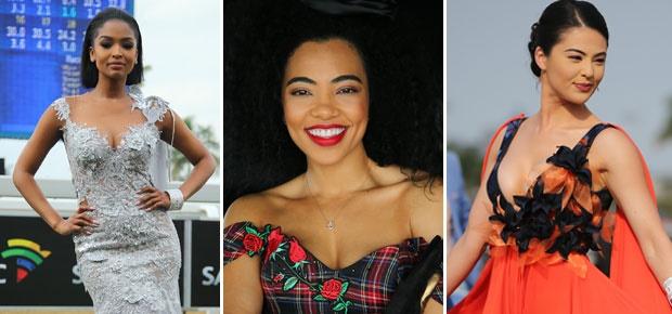 Ayanda Thabethe, Amanda du Pont, Lalla Hirayama