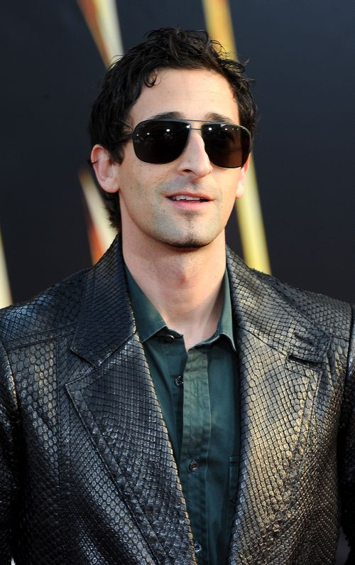 Iron Man 2 World Premi... Adrien Brody Piano