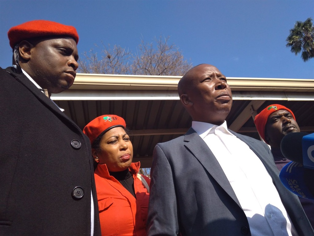 Malema's Land Grab Case Returns To Court
