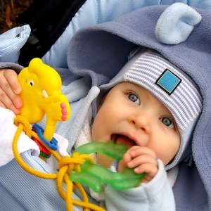 Teething toys may contain endocrine disruptors. (iStock)