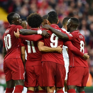 Liverpool celebrate (Supplied Twitter)