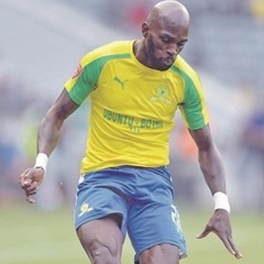 CONFIDENT:  Anthony Laffor is eager to repay Sundowns supporters' confidence in the team. (Lefty Shivambu, Gallo Images)