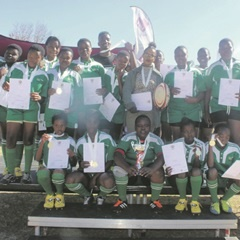 RUGBY STARS: Highveld Secondary School's girls rugby team will represent Mpumalanga at the national winter games in Durban. (Supplied)