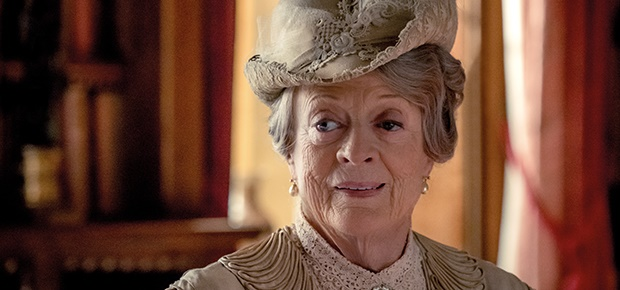 Maggie Smith in 'Downton Abbey.'