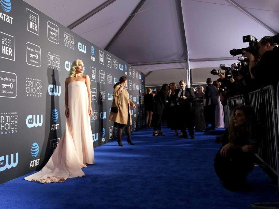 SANTA MONICA, CA - JANUARY 13:  Lady Gaga attends