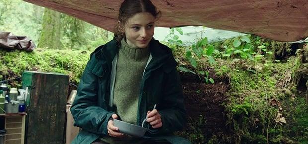 A scene in the movie Leave No Trace.