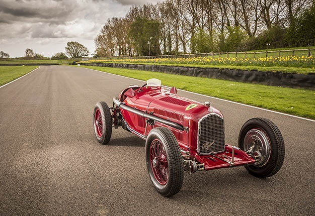 <i>Image: Image: Tony Baker/Classic & Sportscar / The Alfa Romeo P3 Tipo B Monoposto that raced in the 1936 South African Grand Prix will return to East London in November</i>