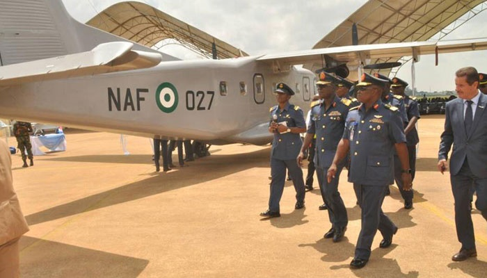 Nigeria air force locally reactivates aircraft.