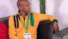 WATCH LIVE: ANC North West chair Supra Mahumapelo in studio