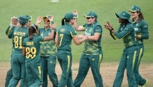 I cannot fault this team - Proteas Women's captain