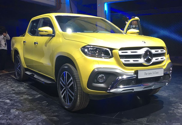 10 Things You Need To Know About The Mercedes Benz X Class