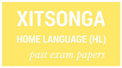 Final Fee Calculator >> NSC past exam papers: Xitsonga Home Language (HL) | Parent24