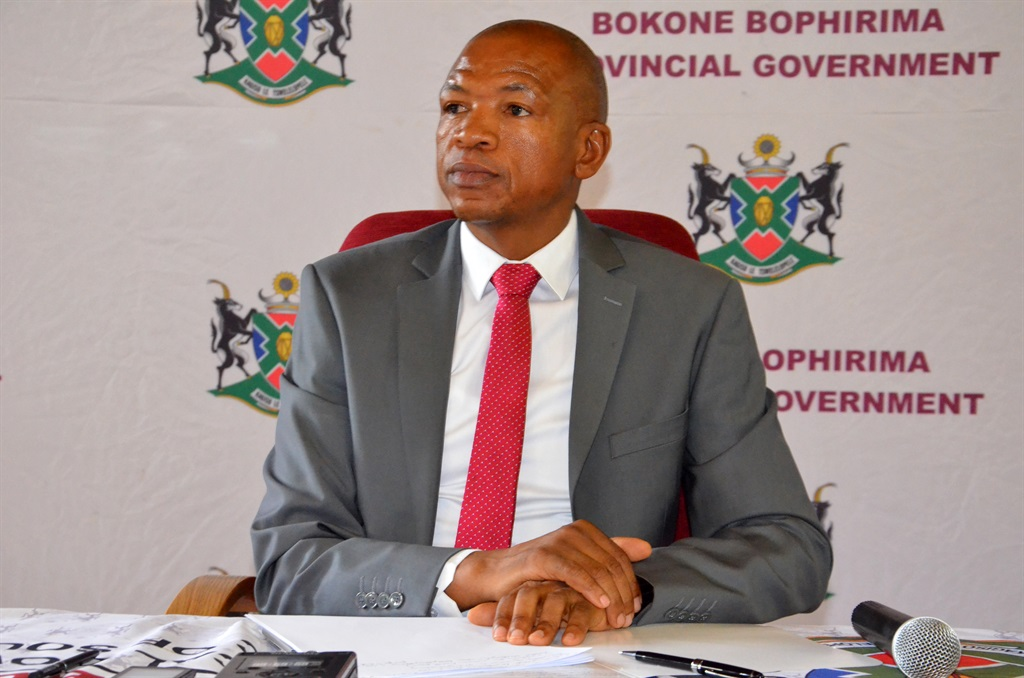 Supra Mahumapelo, premier and provincial chairman of ANC in North West, has come out in defence of the Guptas' right to be innocent until proven guilty. Picture: Matshidiso Legwale