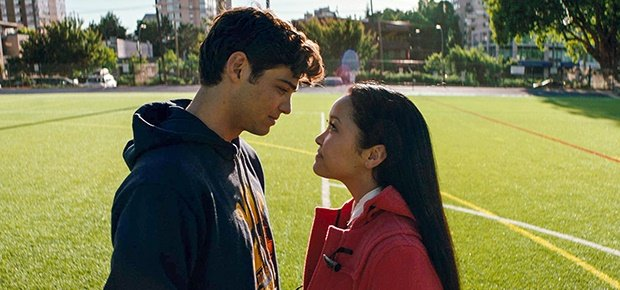 Noah Centineo and Lana Condor in a scene from the movie To All the Boys I've Loved Before. (Netflix)
