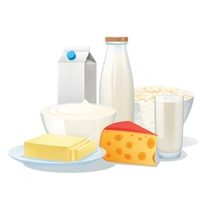 Dairy not suitable for lactose intolerance