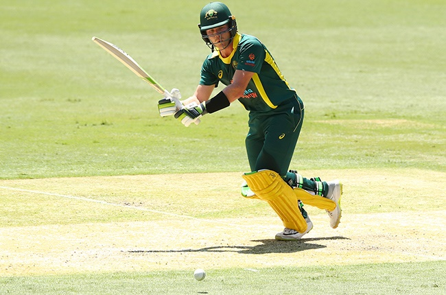 Will Pucovski of Australia XI bats during the tour match against the England Lions in Gold Coast on 2 February 2020.
