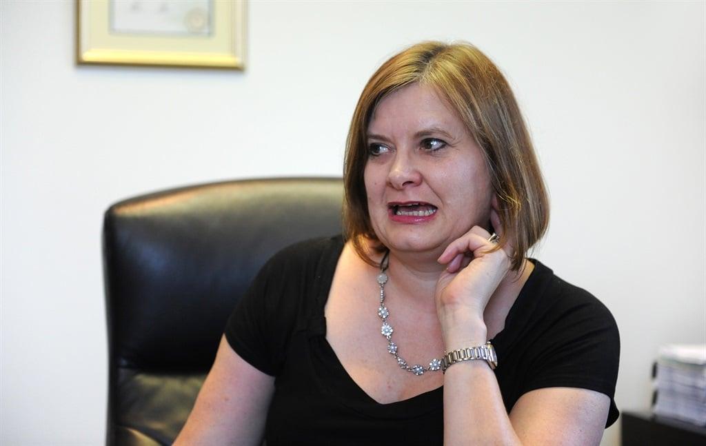 Debbie Schäfer.Picture: Leanne Stander