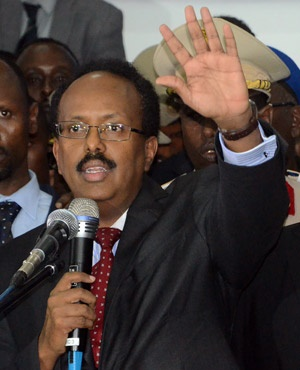 Mohamed Abdullahi Mohamed (File: AFP)