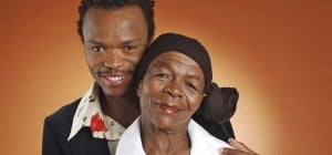somizi and mother