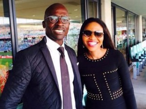 Minister of Finance Malusi and Norma Gigaba.