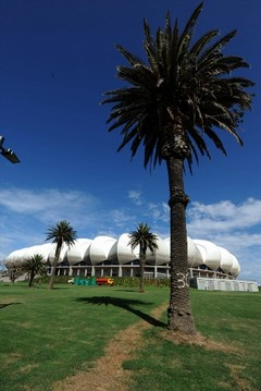 The Nelson Mandela Bay Stadium is a design focal point in the city.