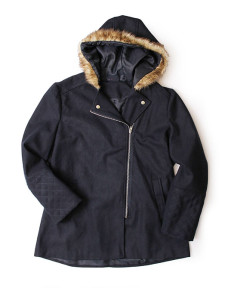 fur colered hooded jacket from Jet R349.99