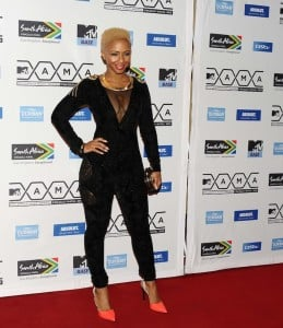 DURBAN, SOUTH AFRICA – JULY 18:  Boity Thulo seen on the red carpet at the 2015 MTV Africa Music Awards on July 18,2015 at the Durban International Conference Centre in Durban,South Africa. The MTV Africa Music Awards celebrate and honour the continent's talent. (Photo by Gallo Images / Frennie Sivambu)