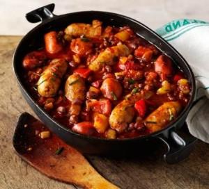 chilli-sausage-stew