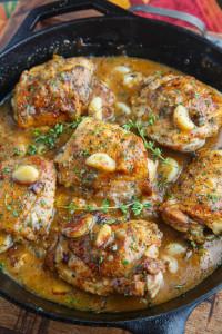 Rustic Garlic Roast Chicken 800 7841
