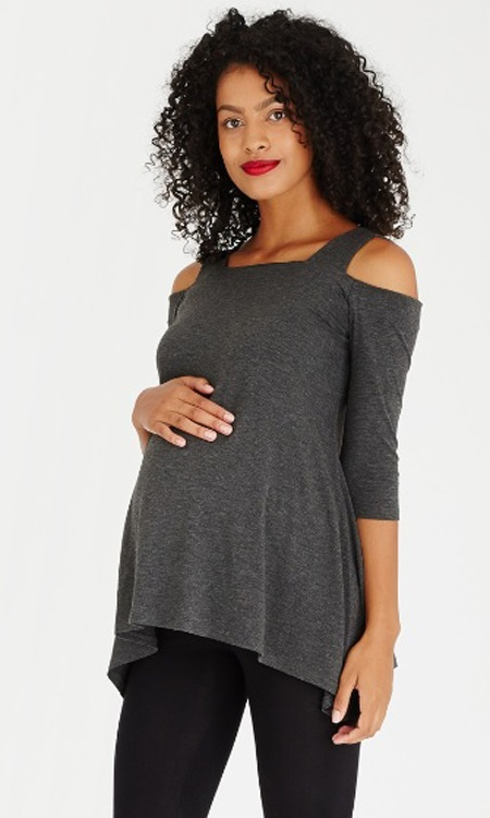 Hanky-Hem-Strap-Top-Grey-Melange-spree