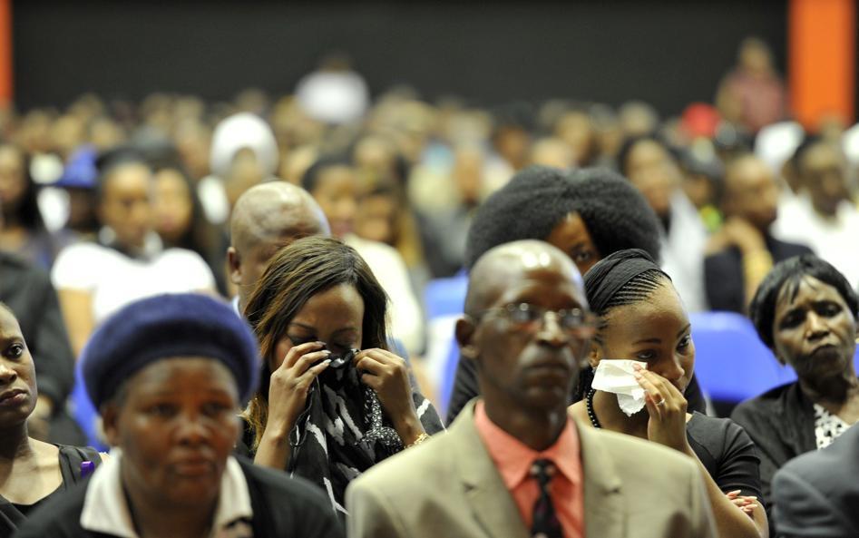 Gallery Family Friends Say Farewell To Palesa Madiba Zestah September Citypress