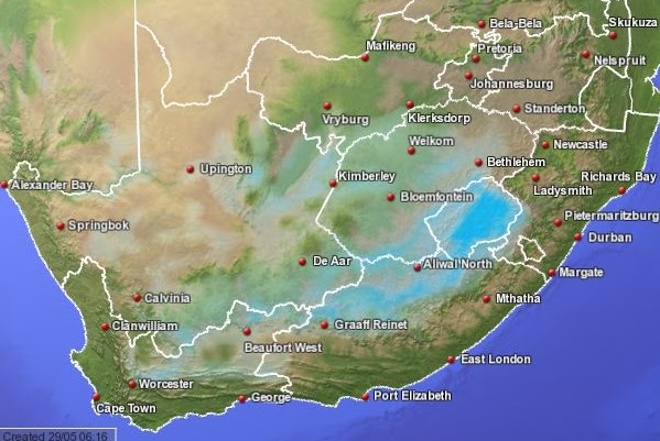 Up To Date Weather Map.Weather Forecast News24